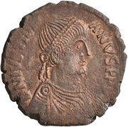 40 Nummi - Justinian I (Rome; ✶M☩) – obverse