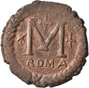 40 Nummi - Justinian I (Rome; ✶M☩) – reverse