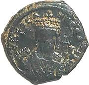 40 Nummi - Phocas (Antioch; Class 2) -  obverse