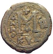 40 Nummi - Justin II and Aelia Sophia (Cyzicus) – reverse
