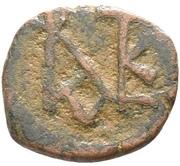 5 Nummi - Justin II (Nicomedia mint) – obverse