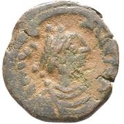 5 Nummi - Justinus I (Constantinople mint) – obverse