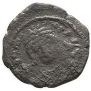 10 Nummi - Mauricius Tiberius (Antioch mint) – obverse