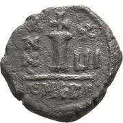 10 Nummi - Mauricius Tiberius (Antioch mint) – reverse