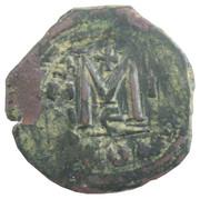 40 Nummi - Mauricius Tiberius (Constantinopolis) – reverse