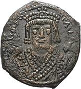 Follis - Maurice Tiberius (Antioch mint) – obverse