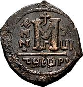 Follis - Maurice Tiberius (Antioch mint) – reverse