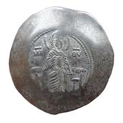 Aspron Trachy - Manuel I Komnenos (Constantinopolis) -  obverse