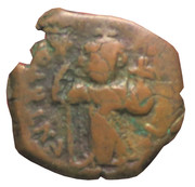 40 Nummi - Constans II (Constantinopolis; Class 2) – obverse