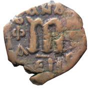 Follis - Constans II (Class 2; Constantinople) – reverse