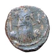 Follis - Constans II (Constantinople) – obverse