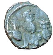 Follis - Constans II (Constantinople) – reverse