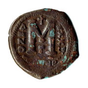 40 Nummi - Justinian I (Antioch; tHЄЧP; Bust Facing) – reverse