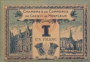 1 Franc - Chambres de Commerce de Caen et de Honfleur - 3éme Emission – obverse