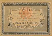 1 Franc - Chambres de Commerce de Caen et de Honfleur - 3éme Emission – reverse