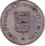 10 Centimes (Caen) – obverse