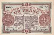 1 Franc - Chambres de Commerce de Cahors – obverse