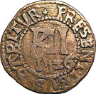 Saint - Omer - Église et Couvent De Saint-Bertin - Méreaux de 12 deniers – reverse