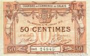 50 Centimes - Chambre de Commerce de Calais [62] – obverse