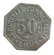 50 Centimes - La mutuelle commerciale (Calais) – reverse