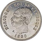 2 Francs - Norodom I – obverse