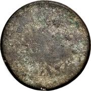 ⅛ Tical - Norodom I (blank reverse) – reverse