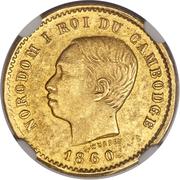 50 Centimes - Norodom I (Pattern) – obverse
