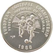 20 Riels (European Football Championship) – reverse
