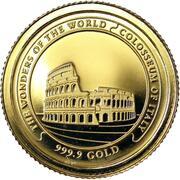 3000 Riels - Norodom Sihamoni (Colosseum) – reverse