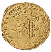 Scudo d'oro - Giulia and Guidobaldo of Rovere – obverse