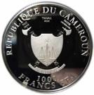 1000 Francs (Cross-River-Gorilla) – obverse