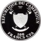 100 Francs (World Championship of Football) – obverse