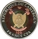 100 Francs CFA (Mother Teresa) – obverse