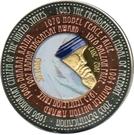 100 Francs CFA (Mother Teresa) – reverse