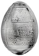 5000 Francs (Egg Trans-Siberian Railway) – obverse