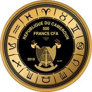 500 Francs CFA  (Leo) – obverse