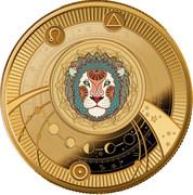 500 Francs CFA  (Leo) – reverse
