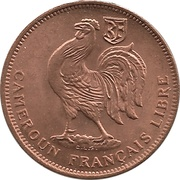 "50 Centimes (with ""LIBRE"") – obverse"