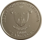 1000 Francs CFA (Unicorn) – obverse