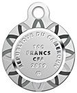100 Francs CFA (Four Leaf Clover) – obverse