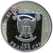 100 Francs (Pope John Paul II beatification) – obverse