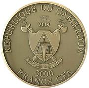 3000 Francs CFA (Medusa) – obverse