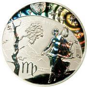 500 Francs CFA (Virgo) – reverse