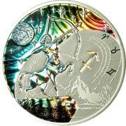 500 Francs CFA (Sagittarius) – reverse