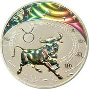 500 Francs CFA (Taurus) – reverse