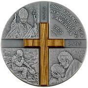 3000 Francs CFA (100th Anniversary of the Birth of Karol Wojtyła) -  obverse