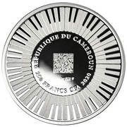 250 Francs CFA (Beethoven 250 years) – obverse