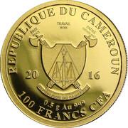 100 Francs  (Buffalo) – obverse