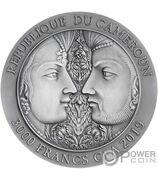 3000 Francs CFA (Kama Sutra) -  reverse