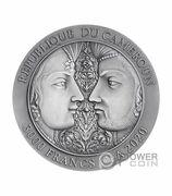 3000 Francs CFA (Kama Sutra) – reverse